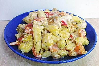 Schupfnudelpfanne mit Gemüse und Mozzarella 47