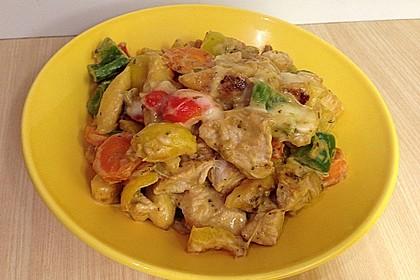 Schupfnudelpfanne mit Gemüse und Mozzarella 46