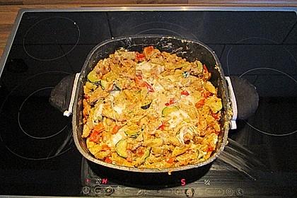 Schupfnudelpfanne mit Gemüse und Mozzarella 39