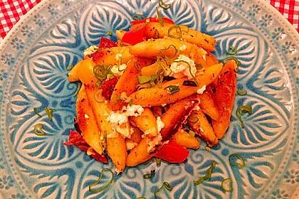 Schupfnudelpfanne mit Gemüse und Mozzarella 42