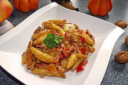Schupfnudelpfanne mit Gemüse und Mozzarella 3