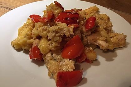 Schupfnudelpfanne mit Gemüse und Mozzarella 20