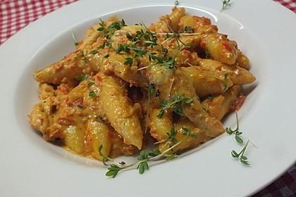 Schupfnudelpfanne mit Gemüse und Mozzarella 4