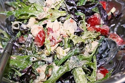 Bunter Salat mit Schafskäse 9