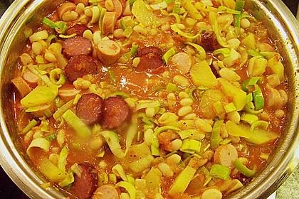 Bohneneintopf mit Cabanossi 6