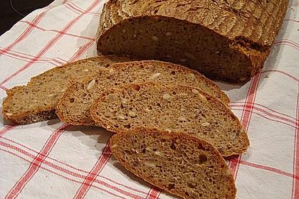 Ulrikes Brot mit Backferment