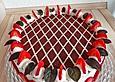 Himbeer - Schachbrett - Torte