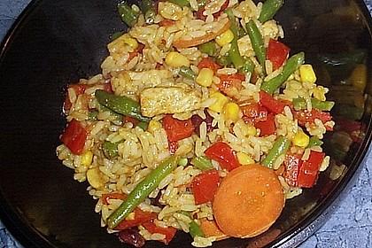Dreadys Reispfanne - auch für den Wok 7