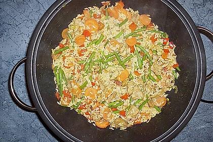 Dreadys Reispfanne - auch für den Wok 5