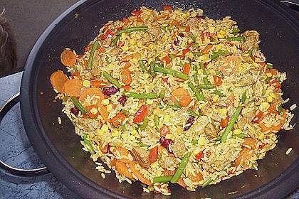 Dreadys Reispfanne - auch für den Wok 6