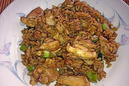 Dreadys Reispfanne - auch für den Wok