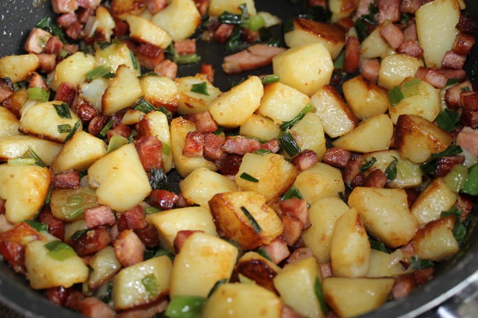 Kartoffel Kasseler Pfanne Von Ananas Chefkoch
