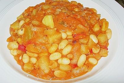 Mediterrane Bohnensuppe 5