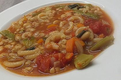 Mediterrane Bohnensuppe 2