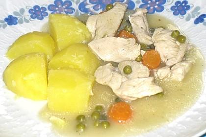10 - Minuten - Hühnerfrikassee 3