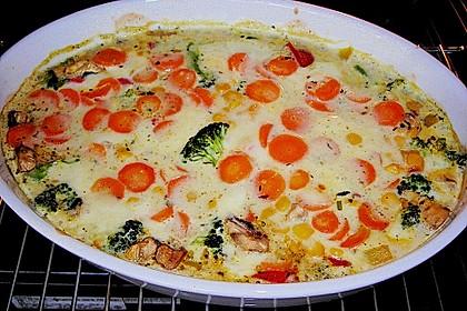 Bunter Gemüseauflauf 50