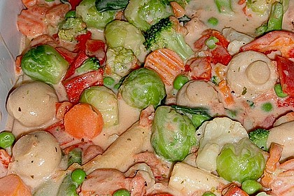 Bunter Gemüseauflauf 29