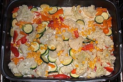 Bunter Gemüseauflauf 52