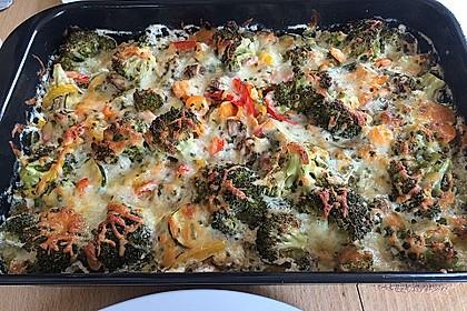 Bunter Gemüseauflauf 6