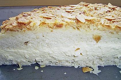Bienenstich - Schnitten mit Quarkcreme 6