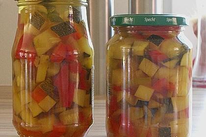 Zucchini süß - sauer eingelegt 1