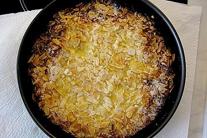 Apfel - Rahmkuchen mit Mandelkuste 1