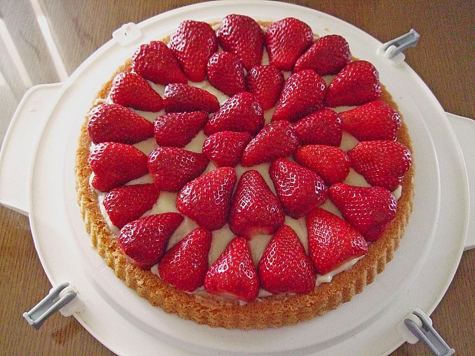 Erdbeer Pudding Kuchen Herta Von I Scholz Chefkoch De