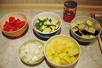 30 Minuten - Gemüsepfanne 2