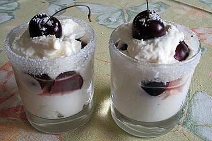 Quark - Kirsch - Dessert 5