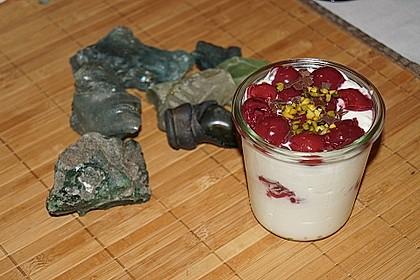 Quark - Kirsch - Dessert 15