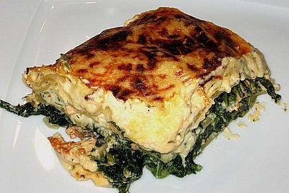 Lachs - Spinat - Lasagne 1