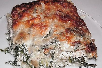 Lachs - Spinat - Lasagne 2