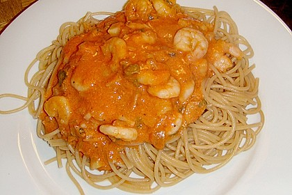 Spaghetti Scampi 17