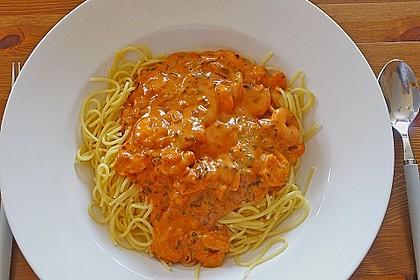 Spaghetti Scampi 11
