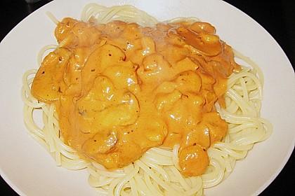 Spaghetti Scampi 20