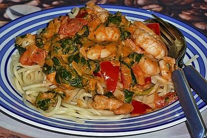 Spaghetti Scampi 2