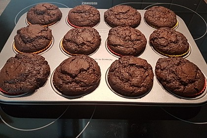 Double Chocolate Muffins 29