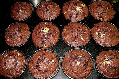 Double Chocolate Muffins 50