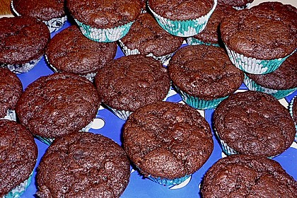 Double Chocolate Muffins 47