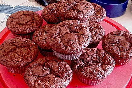 Double Chocolate Muffins 44