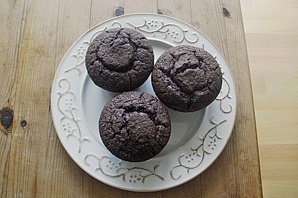 Double Chocolate Muffins 25
