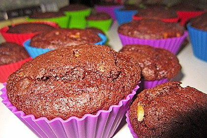 Double Chocolate Muffins 45
