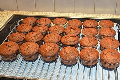Double Chocolate Muffins 33