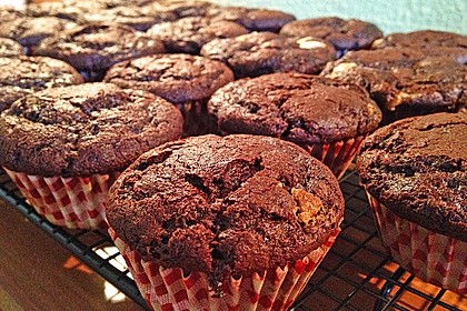 Double Chocolate Muffins 14