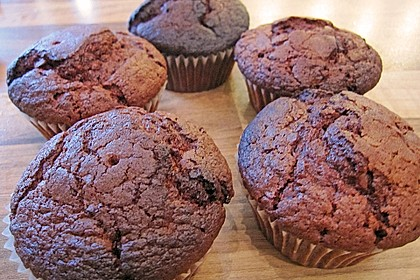 Double Chocolate Muffins 67