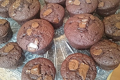 Double Chocolate Muffins 28