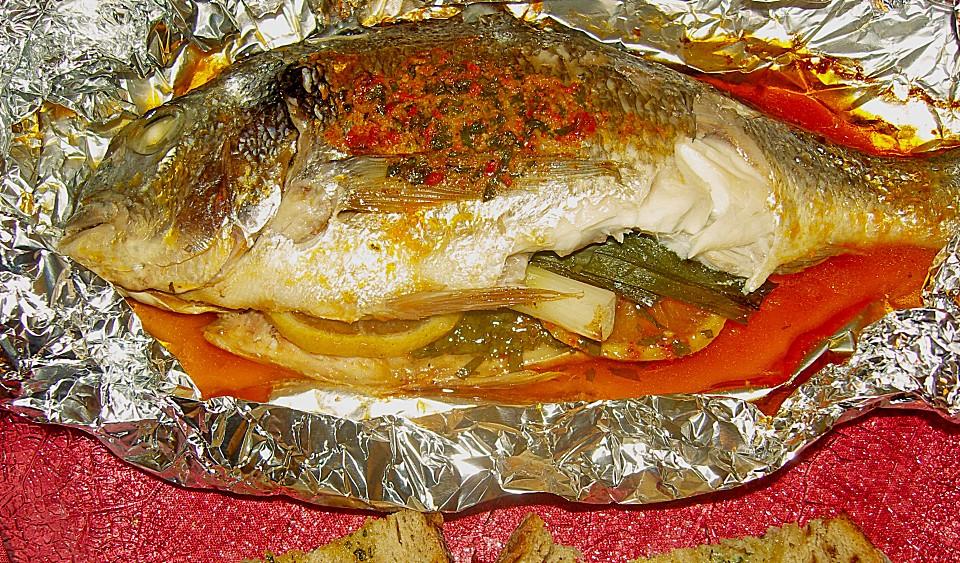Fisch In Chilibutter In Alufolie Von Lie 2 Chefkoch De