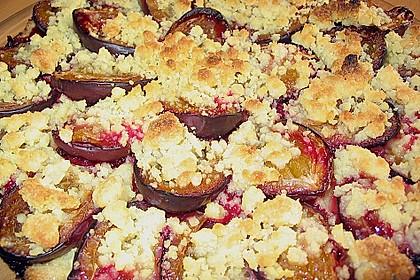 Pflaumen - Streusel - Kuchen (Bild)