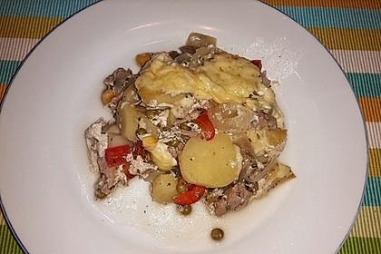 Bunter Kartoffel - Thunfisch Auflauf 1