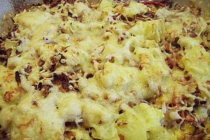 Bunter Kartoffel - Thunfisch Auflauf 10